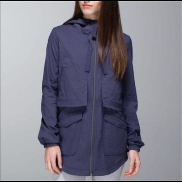 76dec3025b lululemon athletica Jackets & Coats | Lululemon Yogi Anorak Rain ...
